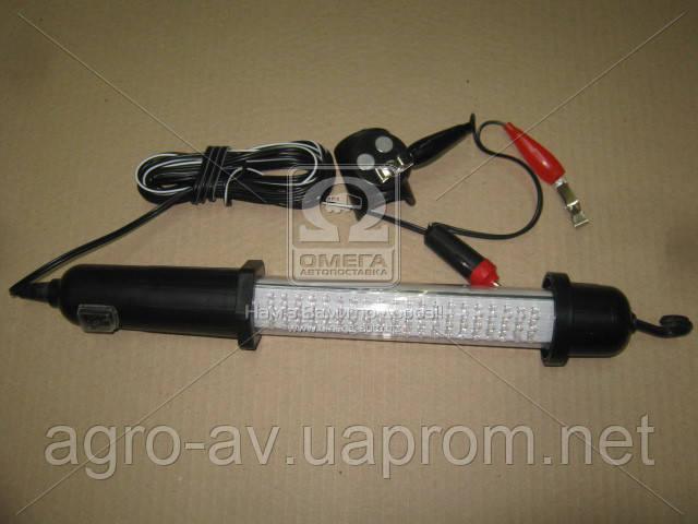 Лампа переносная (TP-6000L) 60 led, 12 В (прикуриватель)  (ВИДЕО)