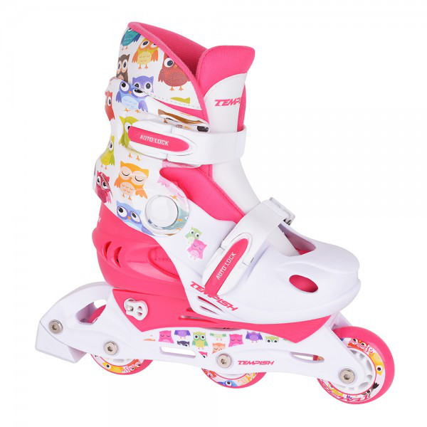 Детские раздвижные роликовые коньки Tempish Owl Baby skate (комплект)