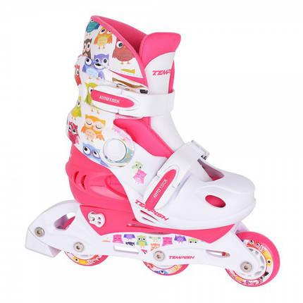 Детские раздвижные роликовые коньки Tempish Owl Baby skate (комплект), фото 2