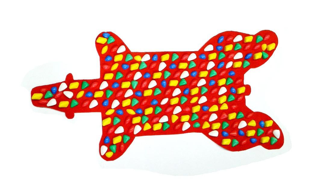 Коврик-дорожка массажный Медведь  (100*50 см)