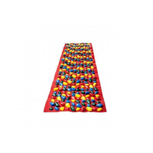 Коврик-дорожка массажный с цветными камнями (200x40 см) сплошное покры