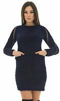 Платье Синие Зима 42,44,46, фото 1