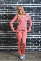 ЖІночий спортивний костюм зі шнуровкою на кофті.Р-ри 42-54, фото 1