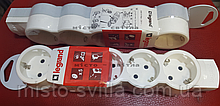 Розеточный блок (колодка) 5 гнезд с з/к 695014 Стандарт Legrand Легранд