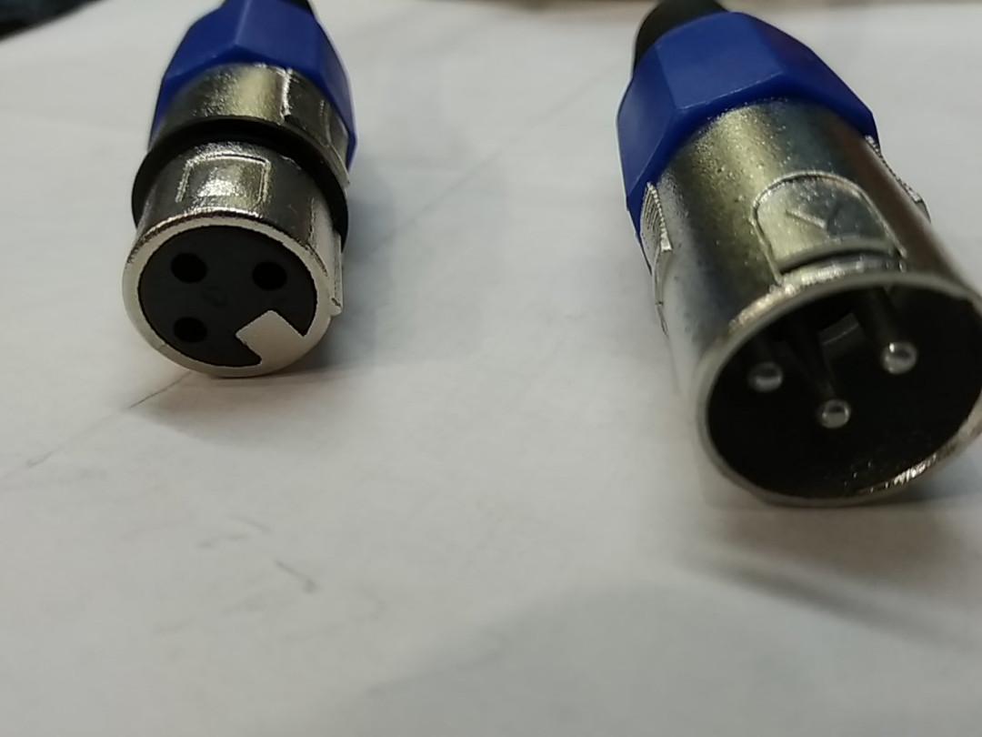 Шнур микрофона XLR-XLR 5 m.