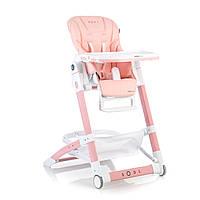 Детский стульчик для кормления Mioobaby-Soul  персик