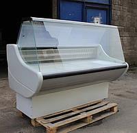 "Холодильная витрина ""РОСС ВПХТ Rimini"" 1,6 м. Бу, фото 1"