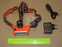 Фонарь налобный (TP-3000L) на аккумуляторах <TEMPEST>