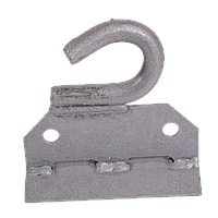 Крюк под бандажную ленту (оцинкованный) универсальный КБЛ-1.1 Билмакс
