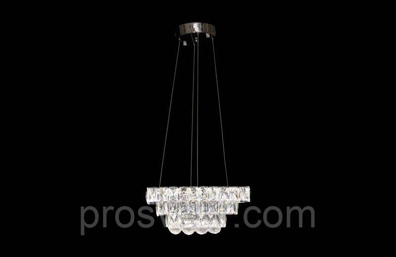 Люстра светодиодная подвесная квадрат 2312, фото 1