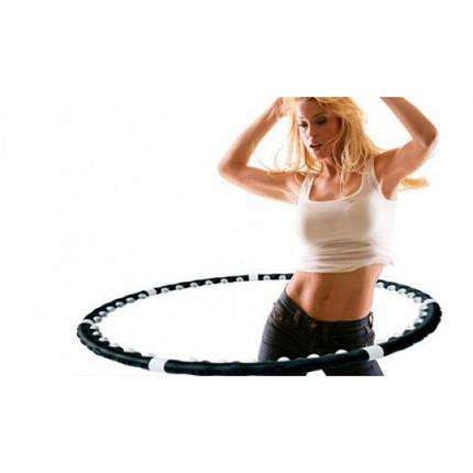 Обруч с магнитными вставками, вес 1,2 кг Профессионал, фото 2