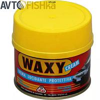 Полироль кузова / защитный крем / автовоск силиконовый с губкой Atas Waxy Cream (250 мл)