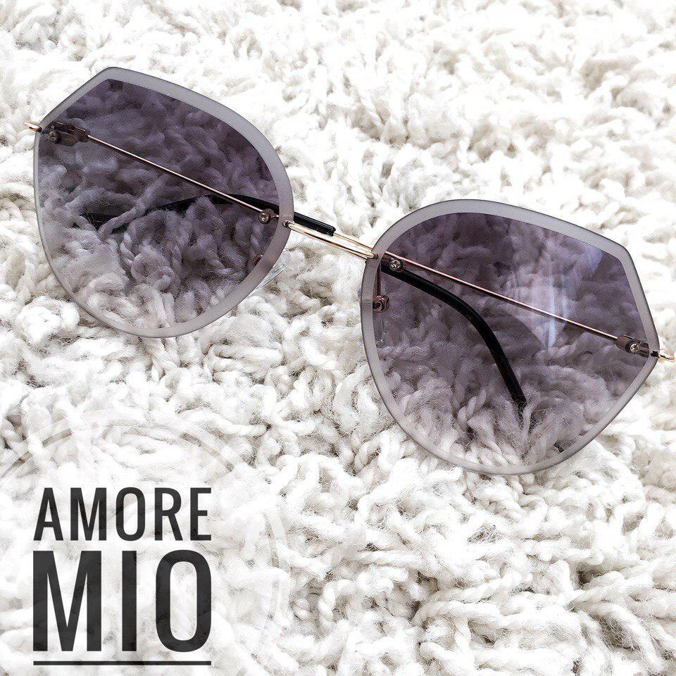 Женские солнцезащитные очки без оправы 36165