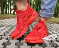 Кроссовки Nike Air Huarache ОРИГИНАЛ run ultra красные red унисекс