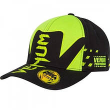 Бейсболка Venum Hurricane Hat Black-Neo Yellow