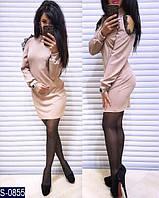 Платье S-0855 (42, 44) — купить Платья оптом и в розницу в одессе 7км