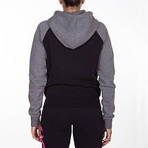 Женская толстовка Venum Infinity Hoody With Zip Black Grey, фото 3