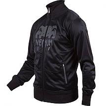 Спортивная кофта Venum Giant Grunge Jacket Black Grey, фото 2