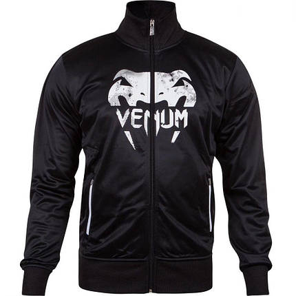 Спортивна кофта Venum Giant Grunge Jacket Black White, фото 2