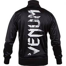 Спортивна кофта Venum Giant Grunge Jacket Black White, фото 3