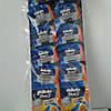 Gillette жиллетт Blue 3 станок мужской одноразовый на листе10 шт.