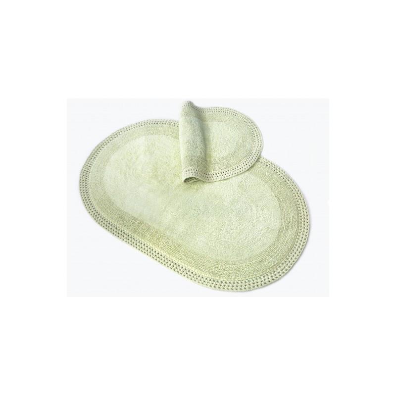 Коврик для ванной Irya - Laverne yesil зелёный   70*110 см