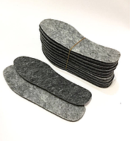 Стельки для обуви ФЕТР, р.46 (4мм), фото 1