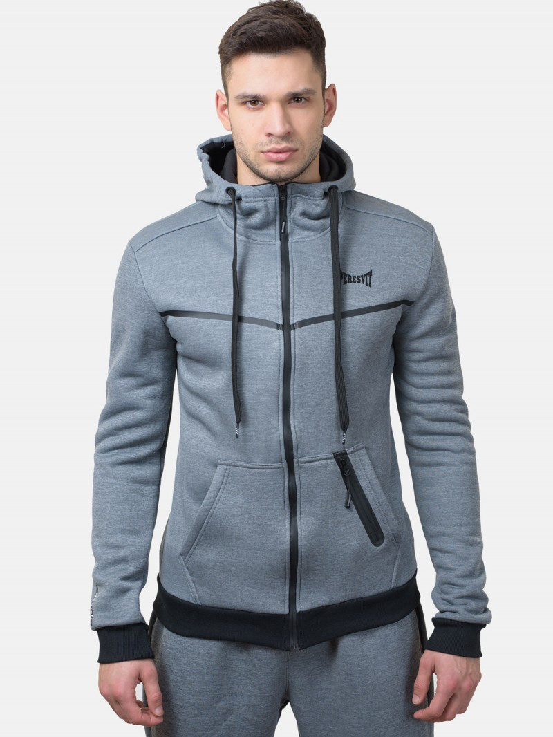 Толстовка Peresvit Neoteric Warm Up Hoodie Heather Gray