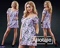 Платье S-0997 (42, 44, 46) — купить Платья оптом и в розницу в одессе 7км