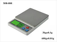 Ming Heng precision 0.01g jewelry electronic scale kitchen food baking grams of tea herbal medic