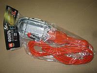 Фонарь переносной (DK-18529B) с LED лампой,12в прикуриватель, 5м., <ДК>