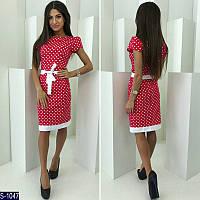 Платье S-1047 (48, 50, 52) — купить Платья XL+ оптом и в розницу в одессе 7км