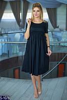 Платье S-1078 (Универсальный) — купить Платья оптом и в розницу в одессе 7км