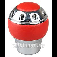 Ручка коробки передач декоративная, F 250118 RD, AX-J2383 красная, Ручки кпп для автомобиля, ручка для коробки передач