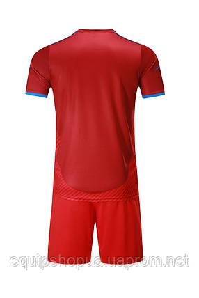 Футбольная форма Europaw 017 красная, фото 2
