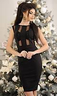 Платье Черное Весна 42-44,44-46, фото 1