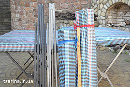Стол для торговли с укрытием  2м, фото 2
