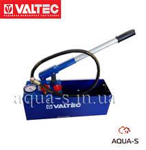 Опрессовщик ручной (пресс) Valtec ER.60 для проверки систем отопления (VT.ER60) Италия