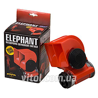 Автомобильный сигнал воздушный CA-10424, Elephant, 24V, красный, Звуковой сигнал, сирена в автомобиль, сигнал в машину, клаксон для автомобиля