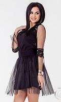 Платье Черное Весна 42-44,46-48, фото 1