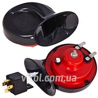 Автомобильный сигнал Улитка CA-24202 /GMP/ 2-контакта, Звуковой сигнал, сирена в автомобиль, сигнал в машину, клаксон в авто