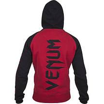 Толстовка Venum Pro Team 2.0 Hoodie Black Red, фото 2