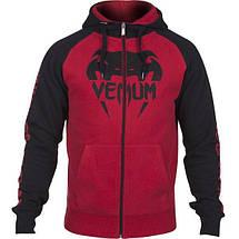 Толстовка Venum Pro Team 2.0 Hoodie Black Red, фото 3