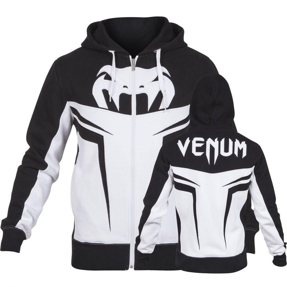 Толстовка Venum Shockwave 3.0 Hoodie Ice Black