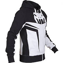 Толстовка Venum Shockwave 3.0 Hoodie Ice Black, фото 2