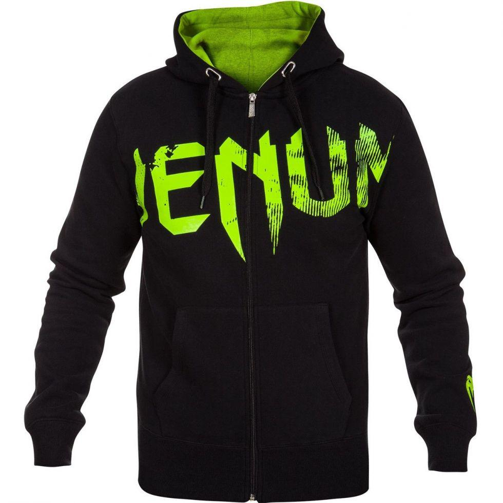 Толстовка Venum Undisputed Hoody Black Green  2 556 грн. - Светри ... 60ce3ab730cfd