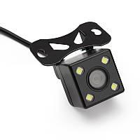 Водостійка камера заднього виду для авто з підсвічуванням mini jack 2,5 mm 5pin