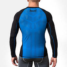 Компрессионная футболка Peresvit Air Motion Compression Long Sleeve T-Shirt Black Blue, фото 2