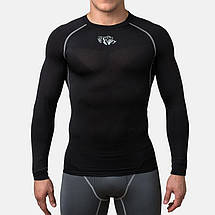 Компресійна футболка Peresvit Air Motion Compression Long Sleeve T-Shirt Black Grey, фото 2