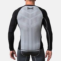 Компрессионная футболка Peresvit Air Motion Compression Long Sleeve T-Shirt Black Grey, фото 3